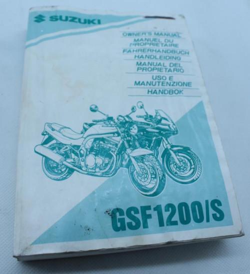 Manuel d'utilisation SUZUKI GSF 1200 S BANDIT 1995 - 2000