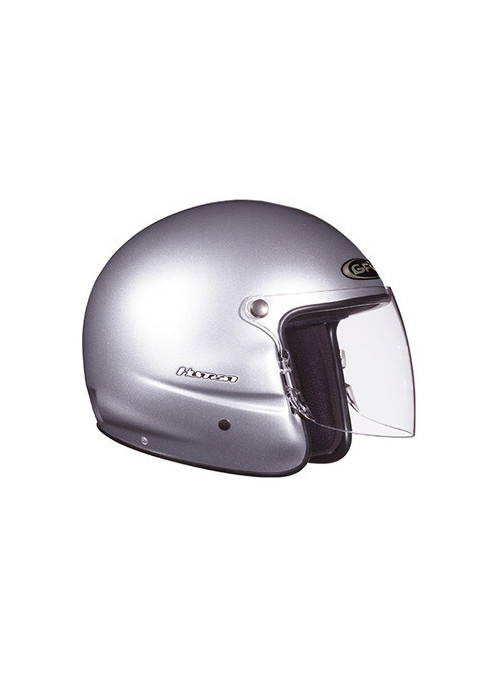 CASQUE GPA HUMAN GRIS METAL XS