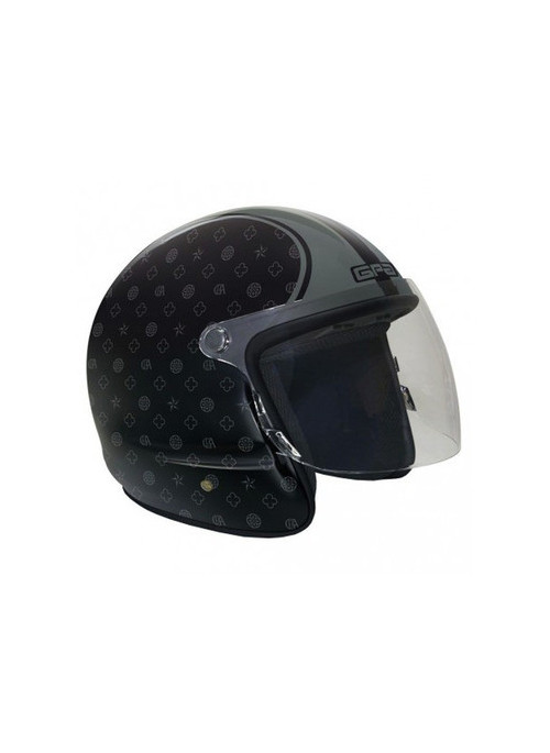 CASQUE GPA HUMAN ESTATE NOIR BRILLANT XS