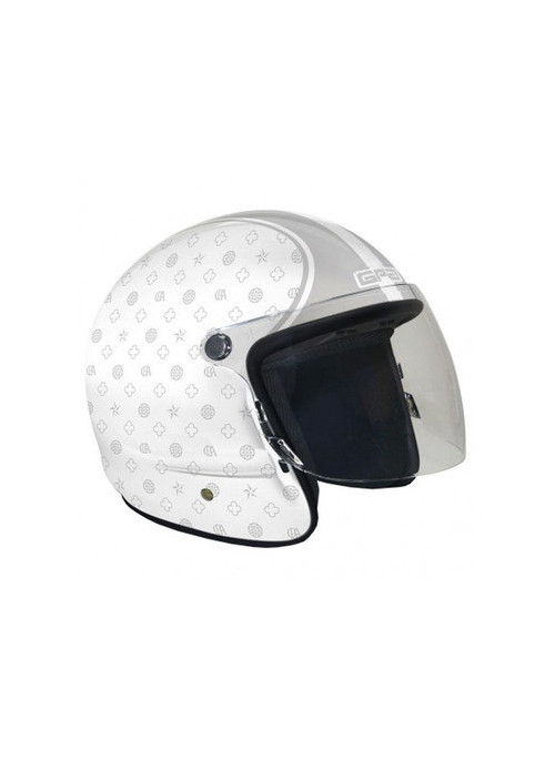 CASQUE GPA HUMAN ESTATE BLANC PERLE XL
