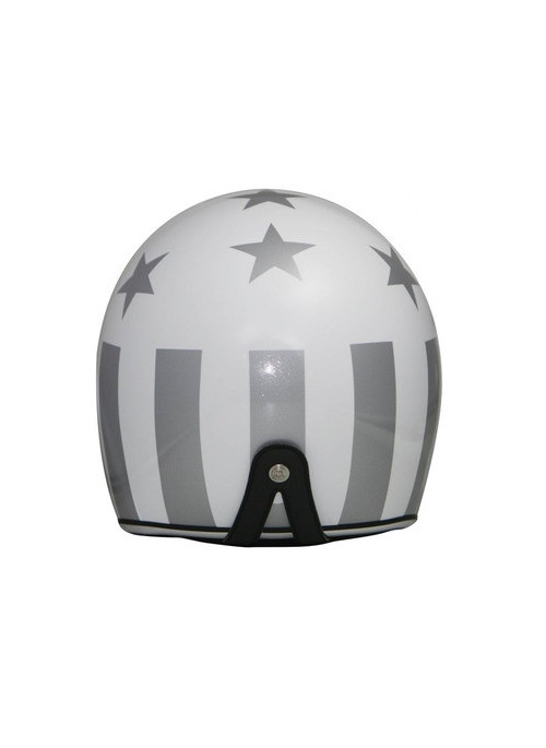CASQUE GPA CARBON LEGEND AMERICA BLANC BRILLANT/ ARGENT L