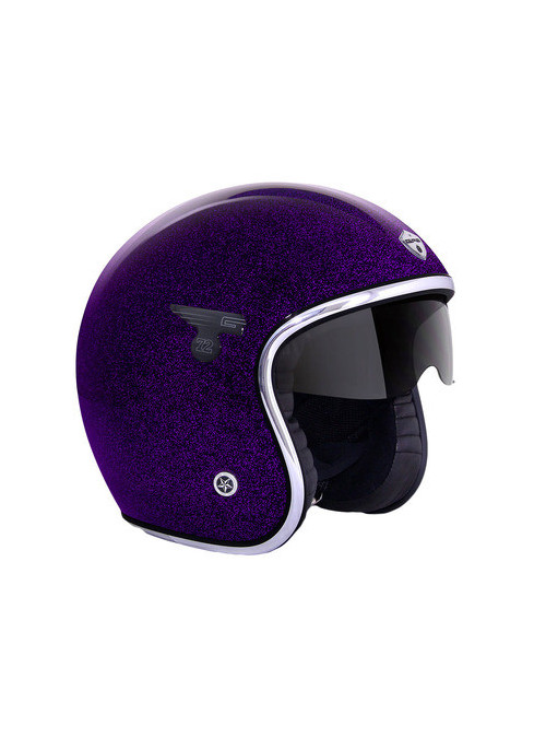 CASQUE GPA CARBON SOLAR FLAKE VIOLET XL